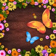 Letter Garden - free online game, play at Wellgames.com games